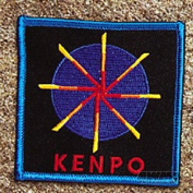 Kenpo Wheel Patch 10cm