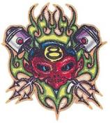 Von Franco Artist Patch - 8.9cm Piston Pitchfork Devil