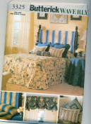 Butterick 3325 Pattern for Waverly Bedroom Accessories