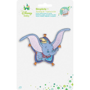 Disney Dumbo Flying Iron-On Applique-