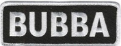 BUBBA FUN FUNNY GREAT NEW HIGH QUALITY MOTORCYCLE Biker Vest Patch! PAT-3036