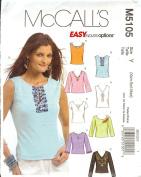 McCall's Tops M5105