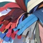 SALE 23cm Zipper Talon #3 Skirt & Dress Closed Bottom ~ Assortment of Colours