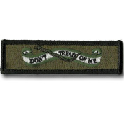 Don't Tread On Me Banner Tactical Morale Patch - Olive Drab
