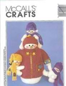 McCall's Crafts 2379 Dad's Day Off Snowman and Snowkids