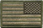 Tactical Reverse USA Flag Patch - Multitan