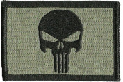 Punisher Tactical Patch - ACU/Foliage