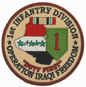 1st Infantry Division Operation Iraqi Freedom Patch