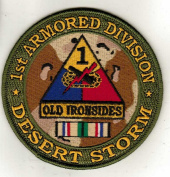1st Armoured Division Desert Storm Patch