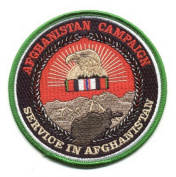Afghanistan Campaign Medal Patch