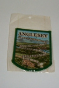 Anglesey Woven Embroidery Woven Souvenir Patch