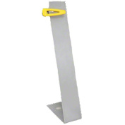 Large, Frosted Clip Display Stand