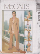 Mccall's Sewing Pattern Jacket Top Skirt Pants