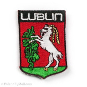 Sew-On Patch - Lublin, Poland City Crest