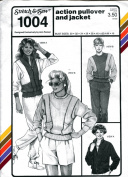 Stretch & Sew Pattern 1004 ~ Women's Action Pullover & Jacket ~ Bust 30-46