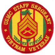 USMC Staff Sergeant Vietnam Veteran Patch