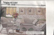 Vogue Patterns for Living 2039 Cushions and Pillows Sewing Instructions