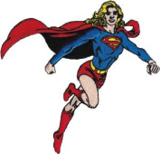Supergirl Run DC Comics Embroidered Patch