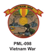 10cm Embroidered Millitary Large Patch vietnam War