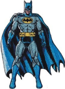 Batman Standing DC Comics Embroidered Patch