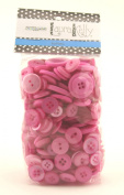 Buttons Galore Hand Dyed Buttons, 160ml, Sweet Blush