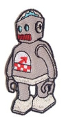 ChuckWagon Artist Patch - 80s Toy Robot - RARE!