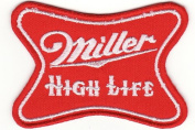 new Miller High Life Beer 7.6cm Embroidered Iron On Patch