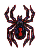 Reed Artist Patch - Poisonous Black Widow Spider RARE!