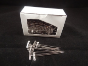 Steel T- Pins. 2''x 1.1mm Pack of 100