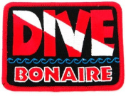 Dive Bonaire Patch Embroidered Iron On Scuba Diving Flag Emblem Souvenir