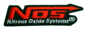 NOS Nitrous Systems The Fast Racing Red Logo Clothing PN03 Patches