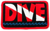 Dive Patch Embroidered Iron On Scuba Diving Flag Emblem Souvenir