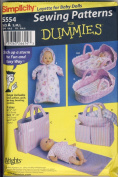 Simplicity Layette for Baby Dolls Sewing Pattern #5554
