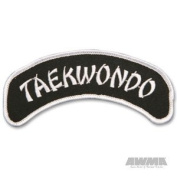 AWMA Arch 3.8cm X 13cm Patch - Tae Kwon Do