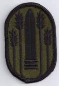 Army 147th Field Artillery Brigade 7cm Subdued Patch