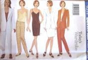 Butterick Sewing Pattern 5034 Misses' Business Wardrobe - Jacket, Dress, Top & Pants, Size 14-16-18