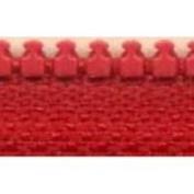 YKK #5 Moulded Plastic Separating Zipper 46cm ~ RED - Vislon