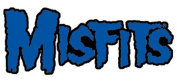 The Misfits Rock Music Band Patch - Blue Logo - Applique