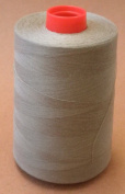 A & E Brown Taupe T40 125G 6000 Yard Spun Cotton Thread