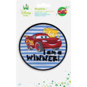 Disney Cars I'm A Winner Iron-On Applique-