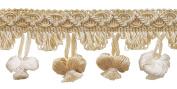 Ivory, Sand 5.1cm Imperial II Onion Tassel Fringe Style# NT2503 Colour