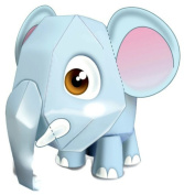 Elephant awesome easy fun DIY 3D art paper craft mini model kit toy