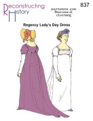 1790 -1810 Regency Morning Dress Pattern