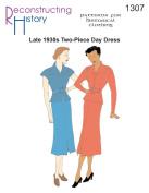 Late 1930s 2-piece Day Dress