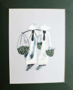 Hand Embroidered Painting - Made in Vietnam- Sep19