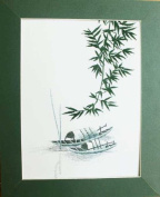 Hand Embroidered Painting - Made in Vietnam- Sep40