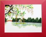 Hand Embroidered Painting - Made in Vietnam- SEP47