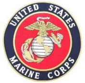 United States Marine Corps 25cm Embroidered Patch
