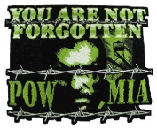 Pow Mia Patch We Leave No One Behind 28cm Patch