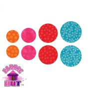 Accuquilt GO! Fabric Cutting Die Circle 3.8cm , 4.4cm , 5.7cm & 6.4cm